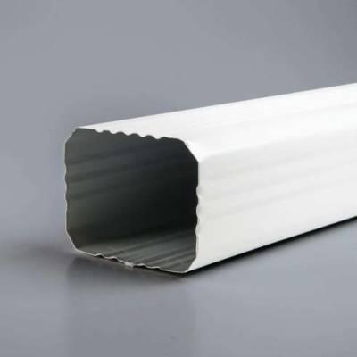 Труба водосточная 76х102 белый
