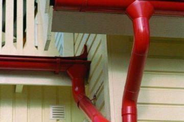 Правила проекта водостока для крыши и монтажа