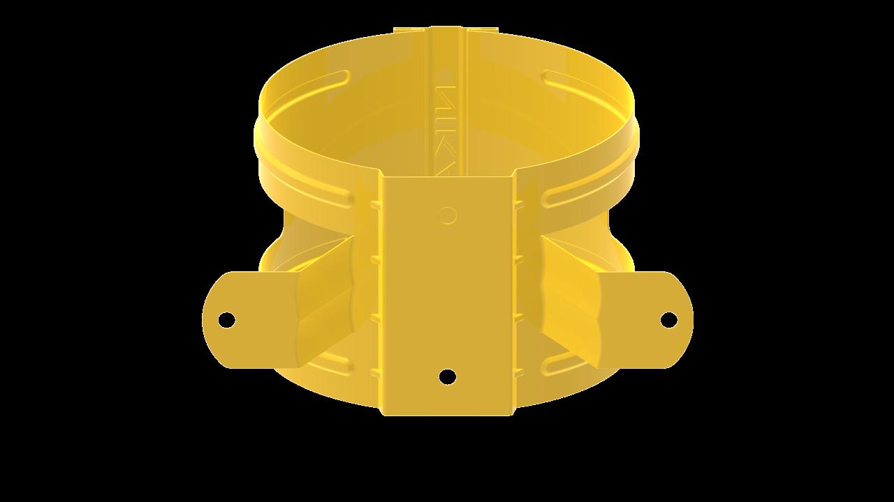 ДержательводосточнойтрубыDнадеревоRALЦинково желтый