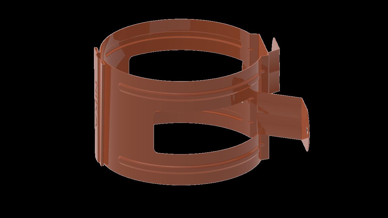 ДержательводосточнойтрубыDнадеревоRALМедно коричневый