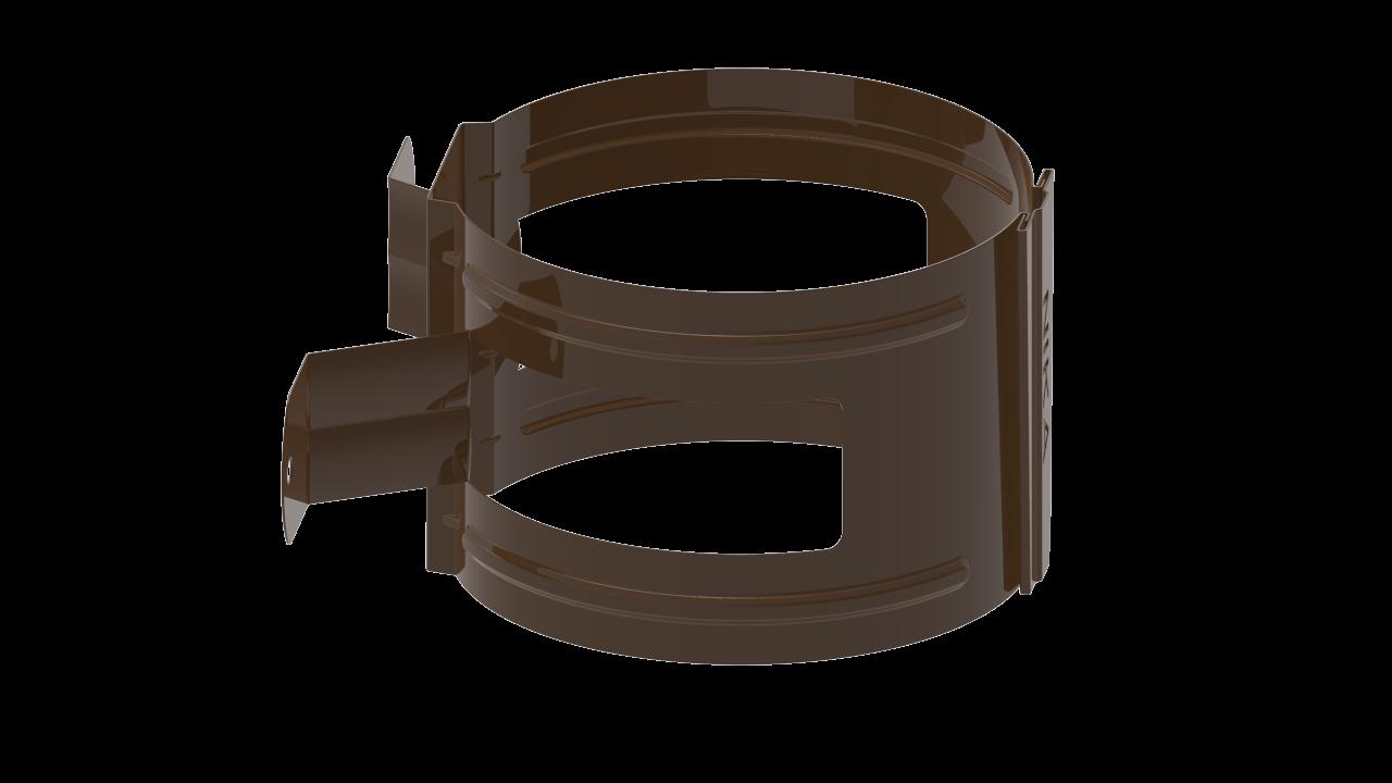 ДержательводосточнойтрубыDнадеревоRR Темно коричневый