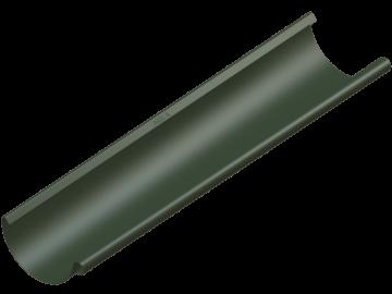 Водосток NIKA - Водосточный желоб D125 Цвет RAL 6020 Хромовый зеленый (с логотипом)
