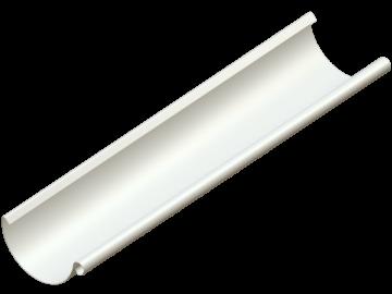 Водосток NIKA - Водосточный желоб D125 Цвет RAL 9001 Кремово-белый (без логотипа)