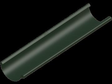 Водосток NIKA - Водосточный желоб D125 Цвет RR 11 Хвойно-зеленый (с логотипом)