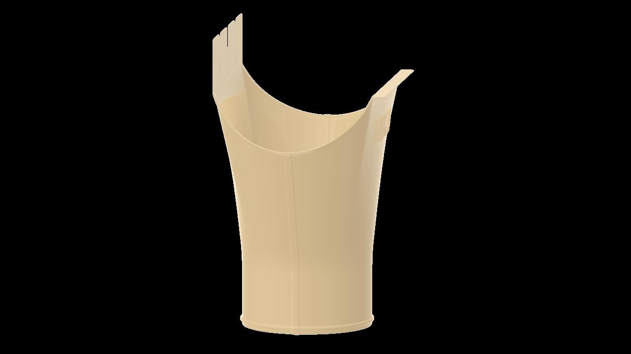 выпускная D RAL Слоновая кость