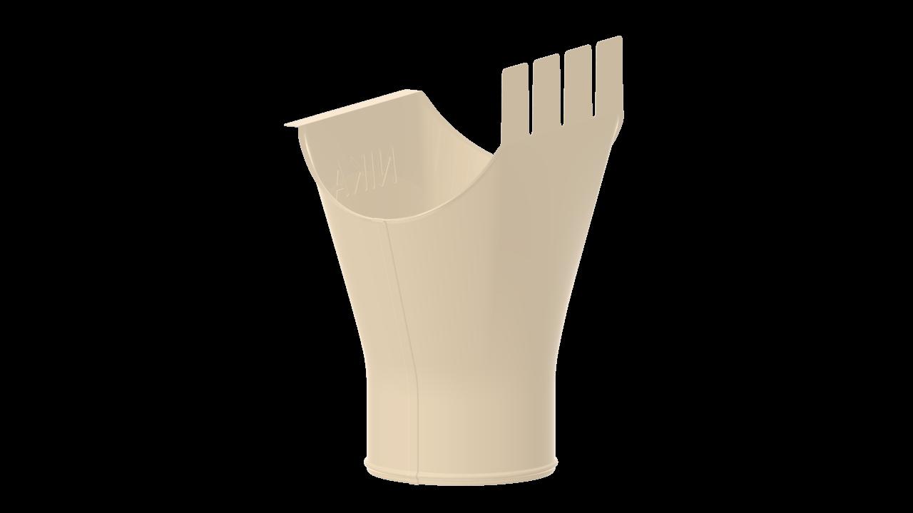 выпускная D RAL Светлая слоновая кость