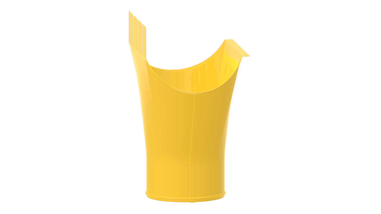 выпускная D RAL Цинково желтый
