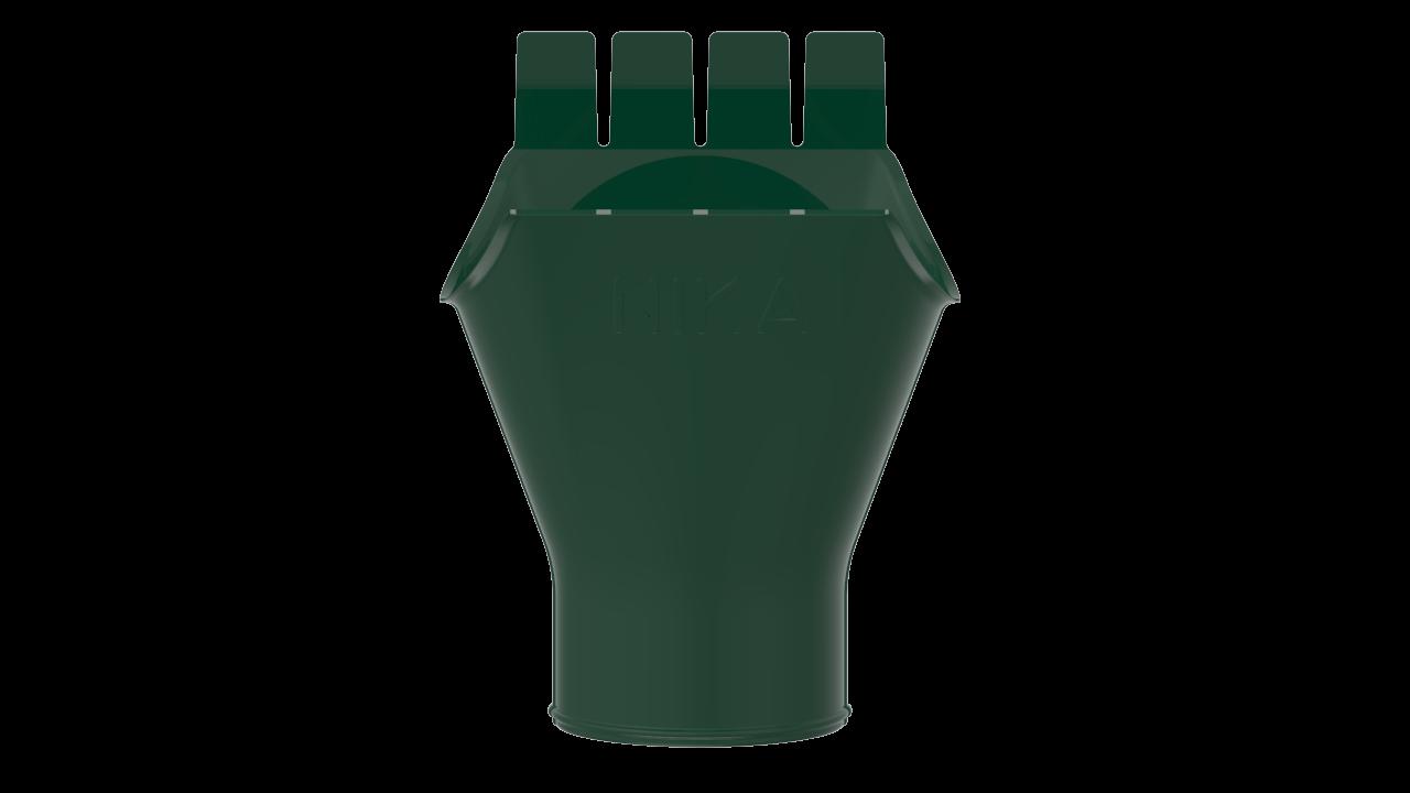 выпускная D RAL Зеленый мох