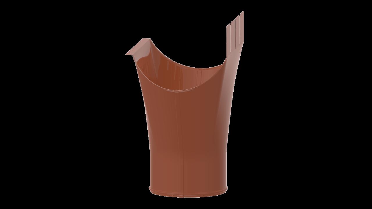 выпускная D RAL Медно коричневый