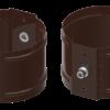 Держатель водосточной трубы D100 на кирпич
