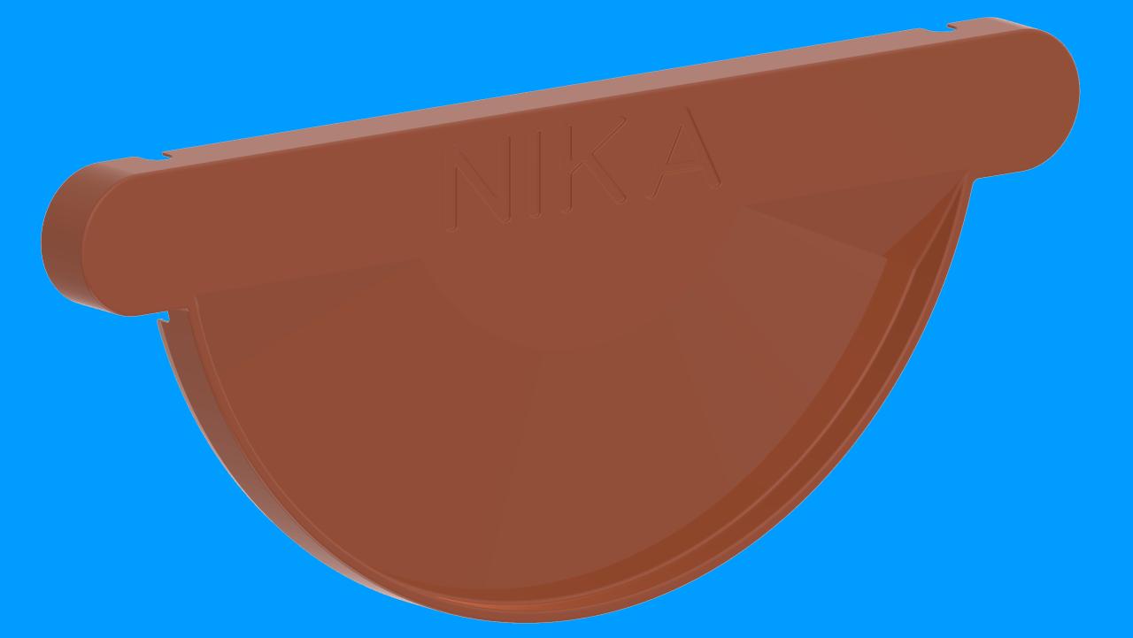 ЗаглушкажелобаDRALМедно коричневыйактивнаякнопка
