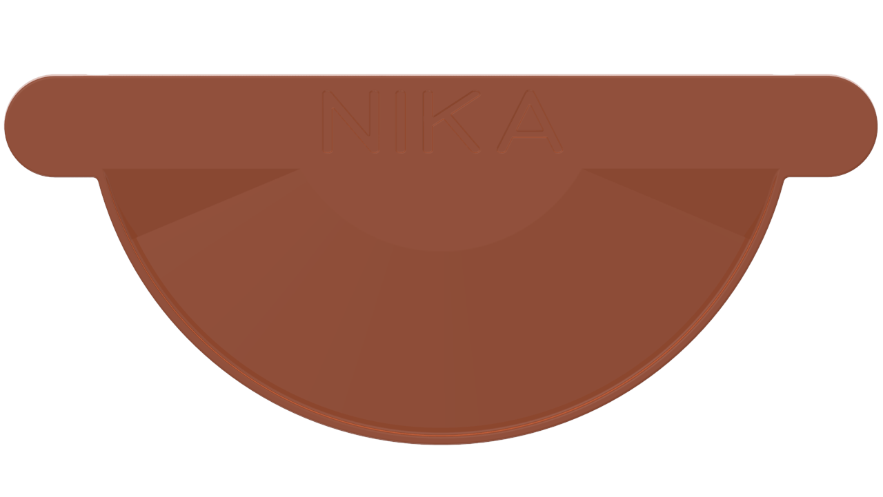 желоба D RAL Медно коричневый