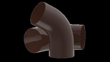 Колено трубы D100