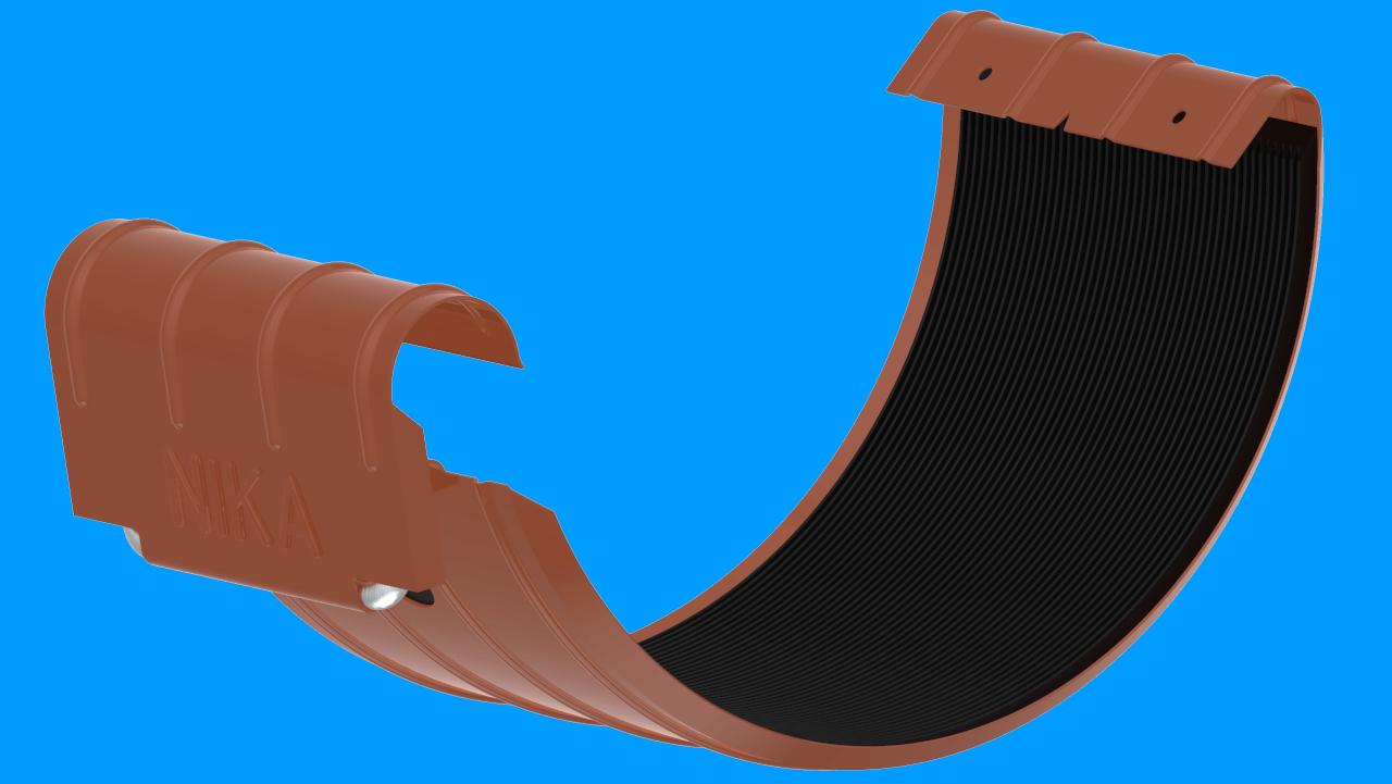 СоединительжелобаDRALМедно коричневыйактивнаякнопка