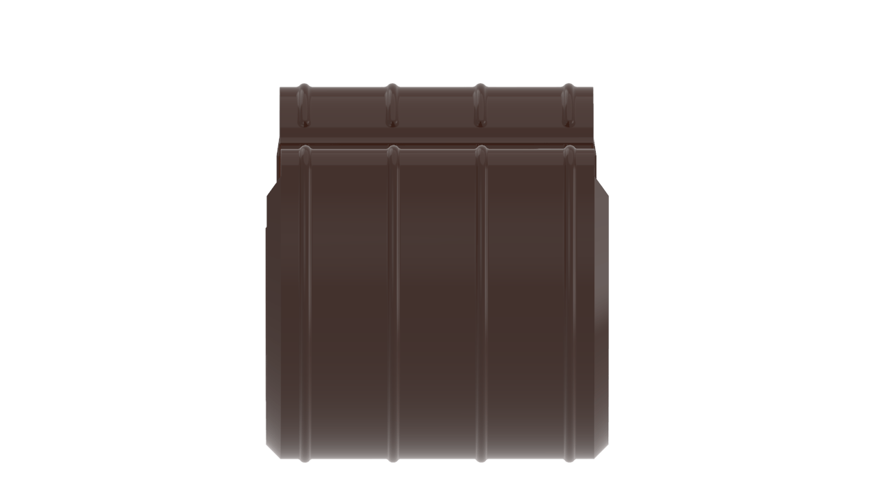 желоба D RAL Шоколад