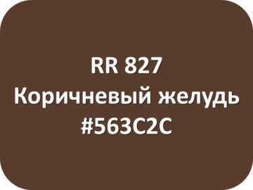 RR 827 Коричневый желудь